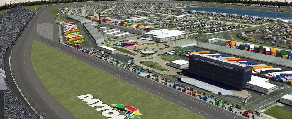 Daytona Super Speedway!